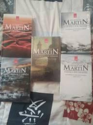 Kit- As crônicas de gelo e fogo 5 livros em ótimo estado. George R. R. Martin