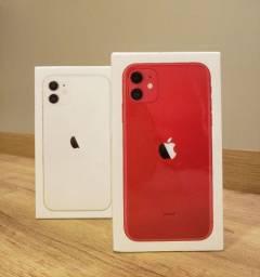 Iphone 11 128gb branco e vermelho