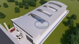 Título do anúncio: Barracão para alugar, 1534 m² por R$ 18.000,00/mês - Parque Industrial Maria Isabel de Alm