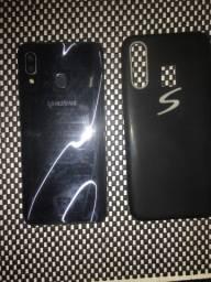 Vendo Samsung A30 64 GB de memória, na caixa e com nota fiscal