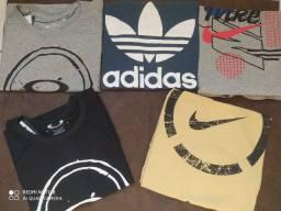 Camisas Masculinas Multimarcas Fio 40.1 Promoção Do P ao GG