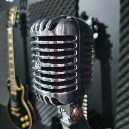 Microfone Shure Sh55 Vintage