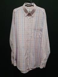 Camisa Alberto Mucciolo, quadriculada - GG.<br><br>
