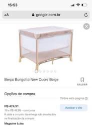 Berço portátil Burigotto