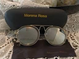 Óculos de sol morena rosa