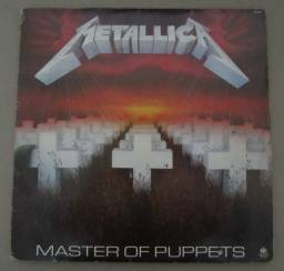 Oferta!! Lp Vinil Metallica- Master Of Puppets-1986