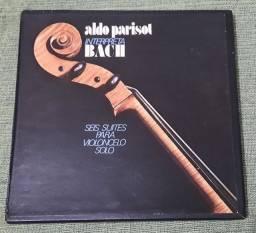 Título do anúncio: VINIL Aldo Parisot Interpreta Bach (EM ÓTIMO ESTADO)