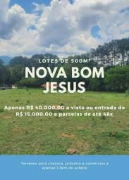 01- Terrenos em Nazaré paulista com apenas 1,3km do asfalto !