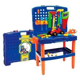 Bancada de ferramentas infantil 45 peças (produto novo