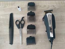 (imperdível !!!) Máquina de cortar cabelo Philco + bolsa protetora grátis
