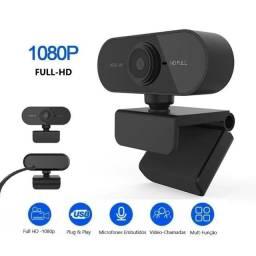 Título do anúncio: webcam hd full 1080p para pc e notebook usb com microfone embutido