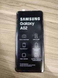 Samsung A 02 novo na caixa