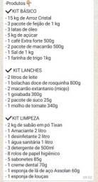 Cesta básica 230 reais á Vista Whatsapp *