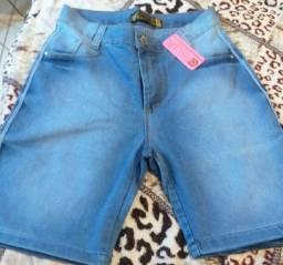 Bermuda jeans feminina N°42
