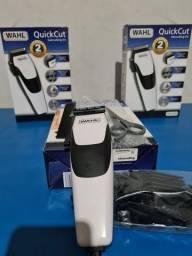 Máquina de Cortar Cabelo Wahl Pro original  branca com regulador