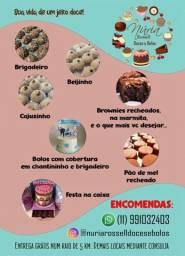 Bolos e doces em geral