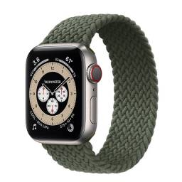 Pulseira Loop Trançada De Nylon Apple Watch