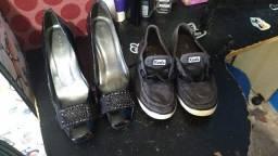 Sapatos a preço de desapego