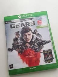 Xbox one   Jogo Gears 5 4K - Novo!