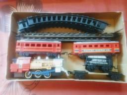 Vendo conjunto trem a pilha Union Express