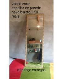Vendo esse espelho de parede novo barato 135 reais pra vendê logo