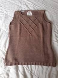Blusa de linha feminina