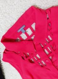 Blusa rosa Importada
