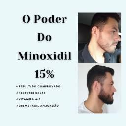 Minoxidil 15% Barba-Cabelo-Pigode