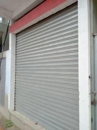 Porta de loja em aço galvanizado