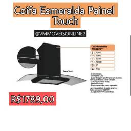 Coifa Esmeralda Painel Touch Fazemos Entrega em Goiânia e Aparecida
