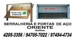 Portas de aço automáticas e manuais 4205'3356