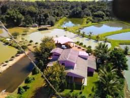 Pesqueiro (Piscicultura + PesquePague) em Gaúcha do Norte - MT, 200.000 m2, 18 lagos