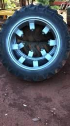 Rodagem fina** pneus