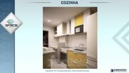 RX // Apartamento em Condomínio no Altos do Calhau // 43m² // 2 quartos