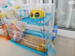 Vendo duas gaiolas para Hamster