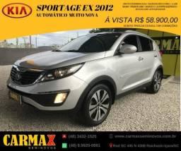 Sportage EX Automatica 2012 Segundo Dono 100% revisada e Muito Novinha - 2012