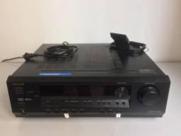 Onkyo Receiver TX SR304 + Caixa de Som JBL