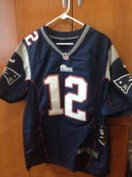 Camisa oficial tom Brady NFL bordada Nike new patriots Super Bowl 0e3416b10bdad