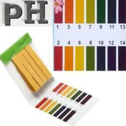 Fitas Para Medir Ph 1-14 - com 80 tiras