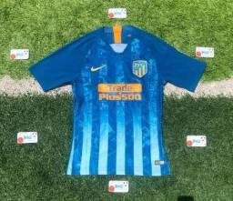 Camisa Atlético de Madrid azul bebe 23994798dc37e