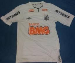 Camisa Neymar Jr. Santos Libertadores 2011 Original 892383b89e079