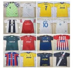 Camisetas De Times De Futebol-kit 10 Unidade