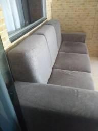 Sofa semi-novo 3 lugares zerado oportunidade única