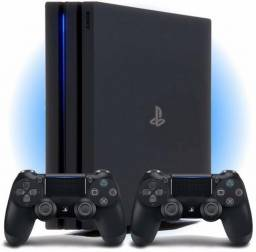 Playstation 4 slim com dois controles 1 tb