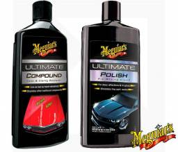 Kit Lustrador Meguiar's Ultimate Polish + Polidor Ultimate