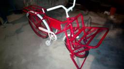 Bicicleta de carga personalizada novíssima!
