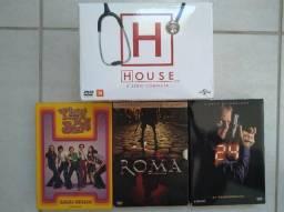 DVD's de Filmes e Seriados - ORIGINAL!