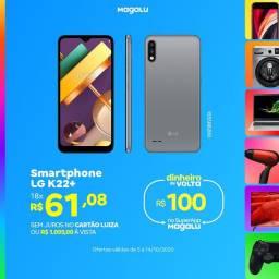 LG k22+ 64GB a Pronta Entrega Magalu Copacabana
