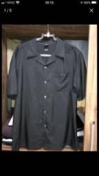 Camisa Oakley botão