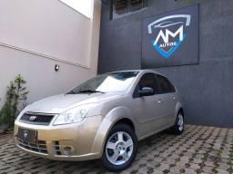Ford Fiesta 1.0 Sedan 2008 Completo Pneus Novos